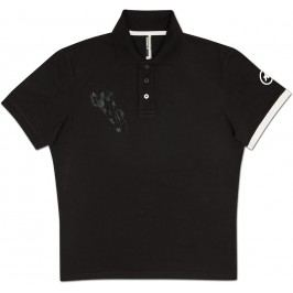 Assos Polo Corporate Man SS Block Black/White M