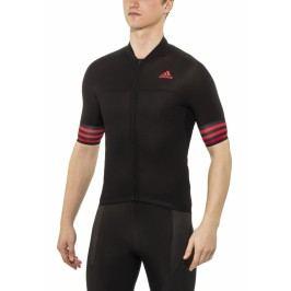 Adidas Dres adistar ss jersey men black/vivid red s13 L