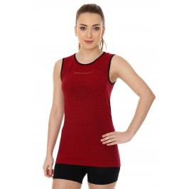 Brubeck Base Layer sleeve cherry L
