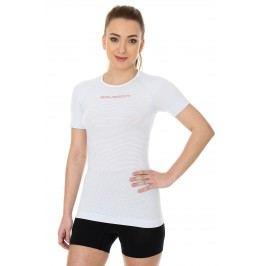 Brubeck womens base layer short sleeve shirt light blue XL
