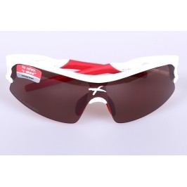 SH Plus brýle RG 4600 Shiny White/red Polarized cat.2
