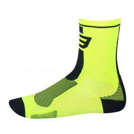 Force ponožky  Long fluo-černé L XL