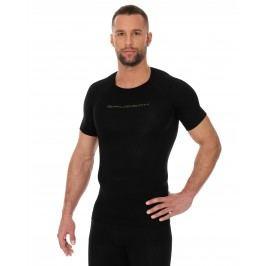 Brubeck Mens Base Layer short sleeve black shirt M