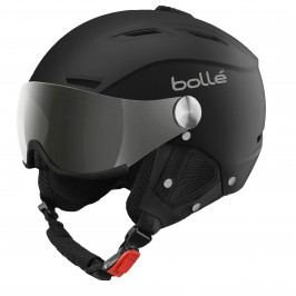Bollé Backline Visor Soft Black & Silver With Modulator Grey Visor 56-58 cm