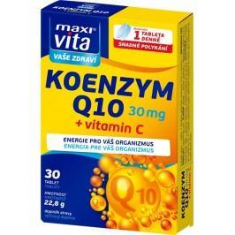 Vitar Maxivita Koenzym Q10 30 mg + vitamín C 30 tbl.