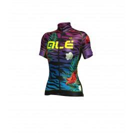 Alé Letní cyklistický dres dámský Graphics Prr   Flowers Velikost S