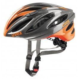 Uvex 17  Boss Race Grey-Neon Orange 55-60
