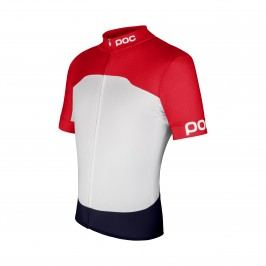 Poc dres 55000 Raceday Climber Jersey Bohrium Red/Hydrogen White L
