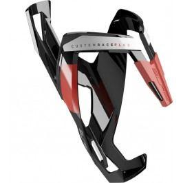 Elite košík Custom Race Plus černý lesklý/červený