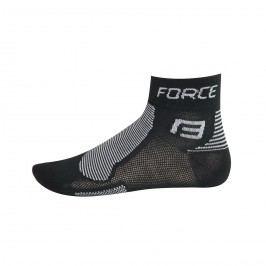 Force ponožky  1 černo-šedé S M