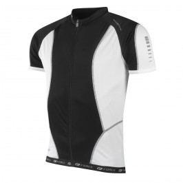 Force dres  T12 krátký rukáv černo-bílý XL