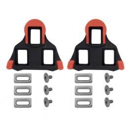 Shimano zarážky SM-Sh10 pro pevné upnutí červené 1 pár