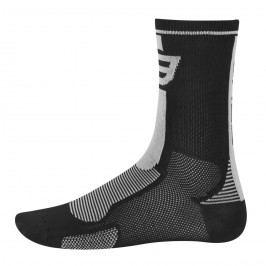 Force ponožky Long černo-šedé L XL