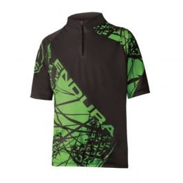 Endura Kids Hummvee Ray Jersey: Black 7-8yrs