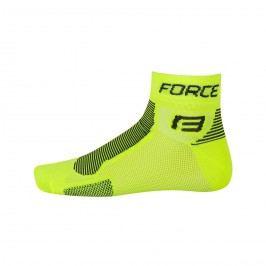 Force ponožky  1 fluo-černé L XL