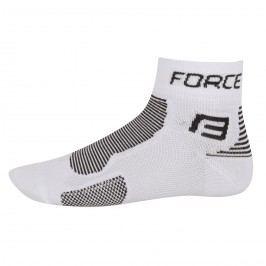 Force ponožky  1 bílo-černé S M
