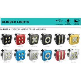 Knog Světlo Blinder 4 Cross Silver Predný