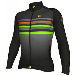 Alé Zimní cyklistický dres Alé pánský Stripe Jersey  L