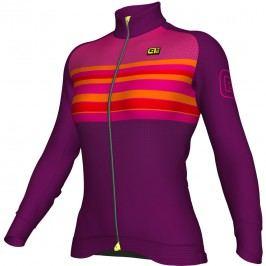 Alé Zimní cyklistický dres Alé dámský Stripe Woman Jersey  L
