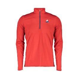 Maloja tričko dl. rukáv GlasgowM. red poppy L