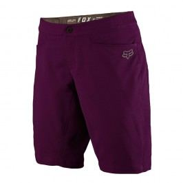 Fox Womens Ripley Short Plum S