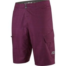 Fox Ranger Cargo Hthr Short Heather Burgundy 34