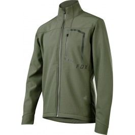 Fox Attack Fire Softshell Jacket Dark Fatigue L