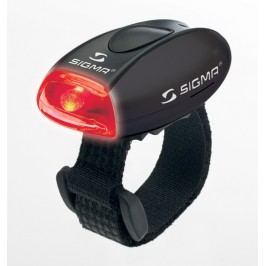 Sigma zadní světlo Micro černá / zadní světlo Led-červená