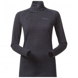 Bergans Merino Fjellrapp Lady Half Zip NightBlue Mel L