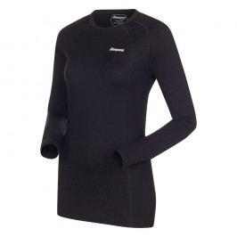 Bergans Merino Fjellrapp Lady Shirt Black L