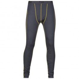 Bergans pánské kalhoty Merino Fjellrapp Tights SolidDkGrey/Yellowgreen L