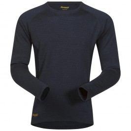 Bergans Merino Snøull Shirt SteelBlue/Dk SteelBlue L