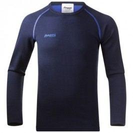 Bergans Dětské triko Akeleie Youth Shirt Navy/Warm Cobalt 128