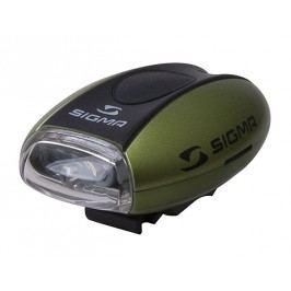 Sigma přední světlo Micro zelená / přední světlo Led-bílá