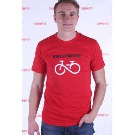 Bikero pánské tričko Bike Forever červené M