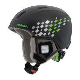 Alpina lyžařská  Carat XT jr. Black green 48-52