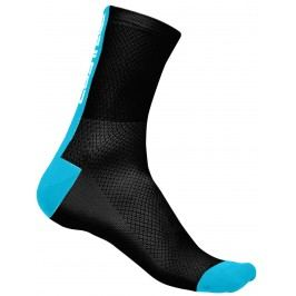 Castelli Distanza 9 Sock black/sky blue L/XL