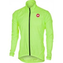 Castelli Squadra ER Jacket yellow fluo XL