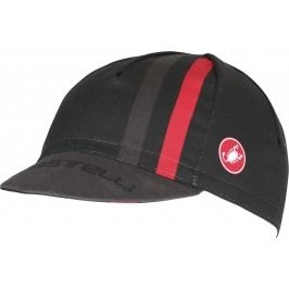 Castelli Podio Doppio Cap black/red