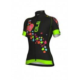 Alé Letní cyklistický dres dámský Graphics Prr Forever Velikost M