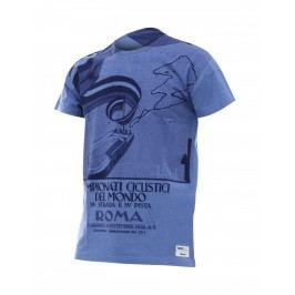Santini tričko Uci Rainbow 2018 modré M
