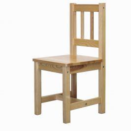 Dětská židle 8866, lakované provedení
