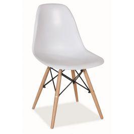 Jídelní židle MODENA, bílá