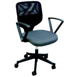 Manažerská židle VERA, černá/šedá