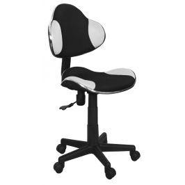 Kancelářská židle Q-G2 černá/bílá