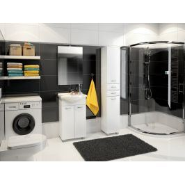 Koupelnová sestava NEJBY s umyvadlem, bílá