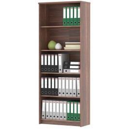 Praktická MB JH055 skříň dveřová švestka/bílá (JH050) lamino