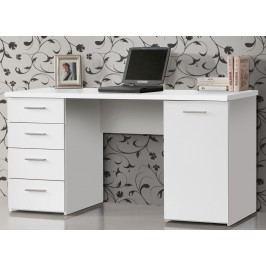 Kvalitní forte NET106, psací stůl MT926, bílý uni mat