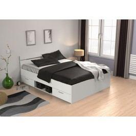 DEMEYERE MACHIGAN, postel 140x200 cm, bílá lamino