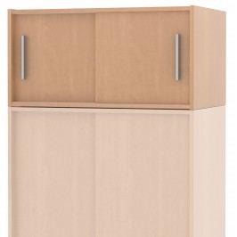 Kvalitní nástavec s posuvnými dveřmi SMART 11, buk